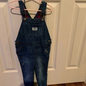 OshKosh Girls Overalls size 4t